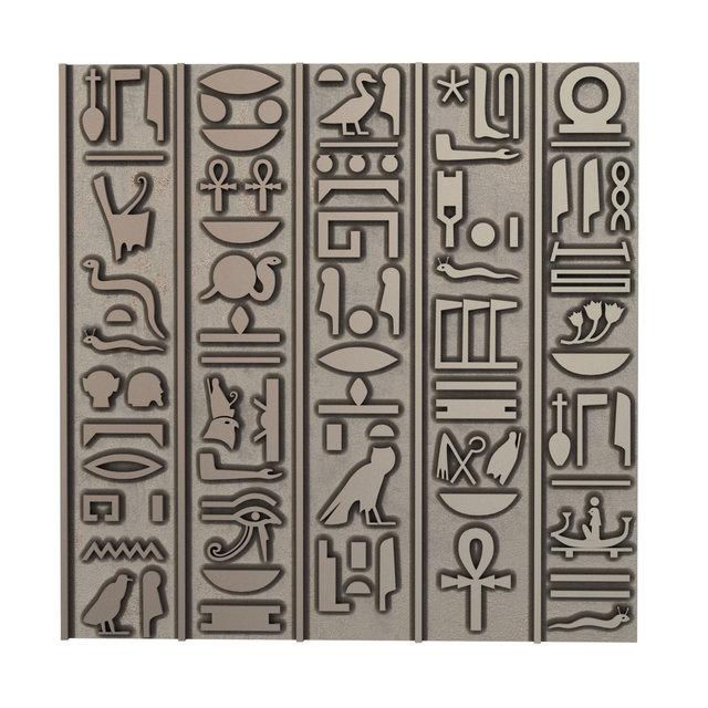 декоративна плитка з єгипетськими ієрогліфами