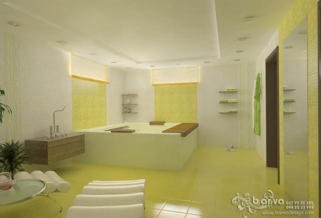 Дизайн комнаты отдыха в доме с.Коцюбинское