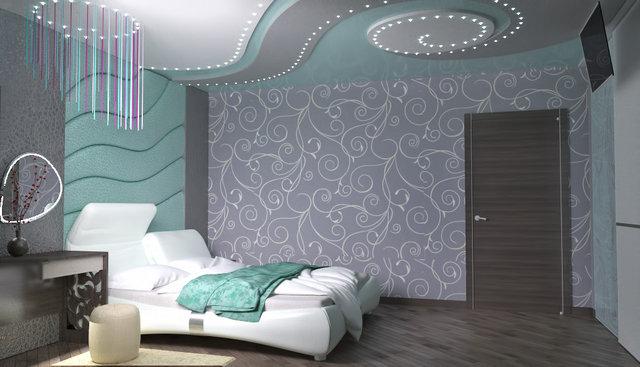 """Дизайн квартири в ЖК """"Міністерський"""". Спальня"""