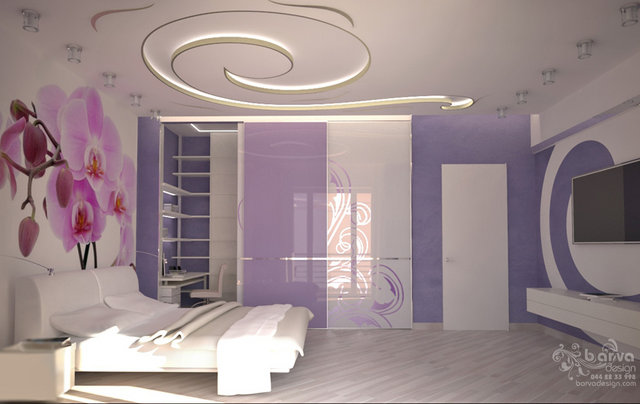 Дизайн спальни в доме с.Старые Петровцы