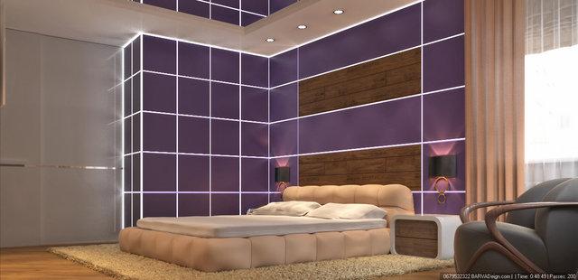 """Дизайн спальни в 3к-квартире ЖК """"Сонячна Брама"""""""
