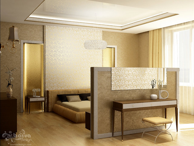 Квартира на Севастопольській площі. Дизайн спальні