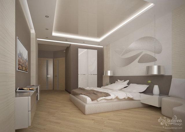 "Дизайн спальни в 4-к квартире ЖК ""Паркове місто"""