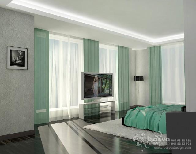 Дизайн спальни в доме с.Коцюбинское