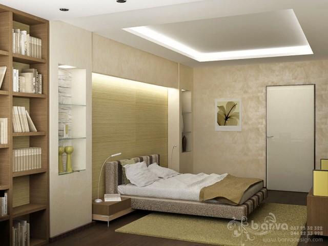 Интерьер спальни для мужчины