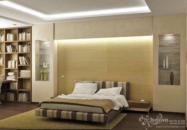 Квартира на Чоколівському. Дизайн спальні