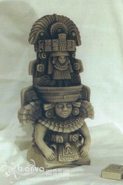 Стелла правителя майя