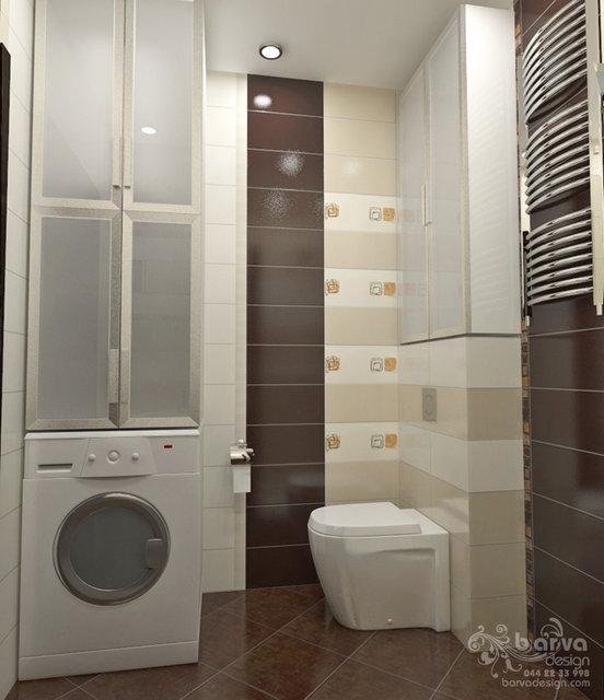 Дизайн квартири на Осокорках. Дизайн гостьового санвузлу