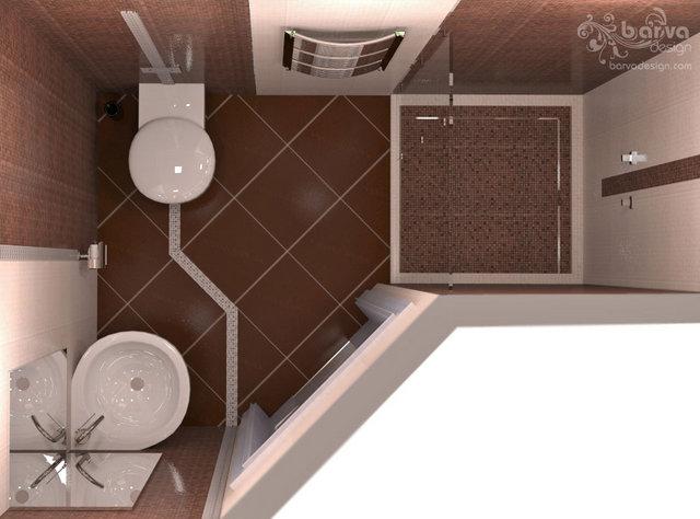"Дизайн гостевого санузла. Квартира в ""Парковому мicтi"""