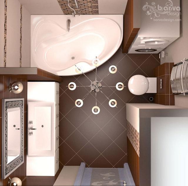 "Дизайн основного санузла. Квартира в ""Парковому мicтi"""
