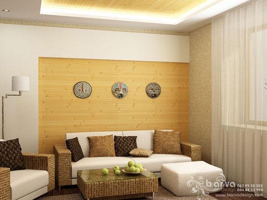 Дизайн стены гостиной фото