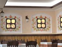 Візуалізація кафе в українському стилі