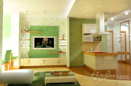 Дизайн гостиной в стиле минимализма, дизайн интерьера