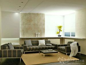 Дизайн гостиной, дизайн 2-хкомнатной квартиры на бул.Чоколивский